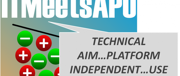 ITMeetsAPO (working title) – a platform independent app to be used in private context and build with business software